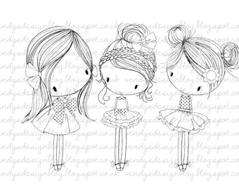 All Dressed Up, Three Little Party Girls