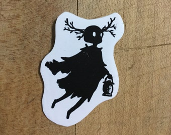 The Beast. Shrink plastic magnet. Over The Garden Wall. FREE SHIPPING!