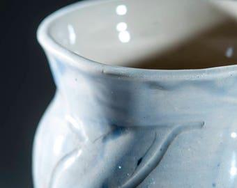 Blue chalice Celtic design