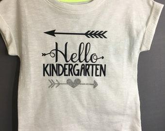Hello Kindergarten Children's Tee