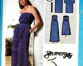 Simplicity 9032      Pull-Over Summer Dress in Two Lengths    Size 10,12