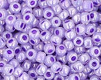 11/0 Ceylon Gladiola Toho Glass Seed Beads 2.5 inch tube 8 grams TR-11-922