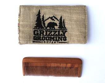 Beard Comb, Neem Comb, Wooden Beard Comb, Wood comb, Wooden comb, Hair Comb, Gift for Men, Gift for Husband, Gift for dad, Fathers Day Gift