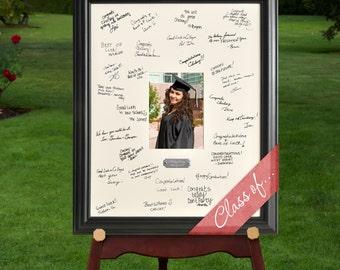 Personalized Graduation Frame - Personalized Graduate Celebration Signature Frame - Signature Frame  - GC909 GRADUATION