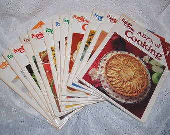 The Family Circle ABZ's of Cooking 1-12 full set