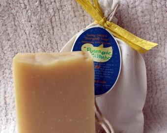 "Pineapple Cilantro ""Everyday Soap"" Handmade Cold Process Homemade"