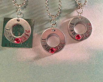 True Blood Team Necklaces