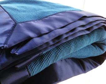 Add a Satin Trim to your Thermal Blanket, Blanket Sold Separately, Choose Your Color