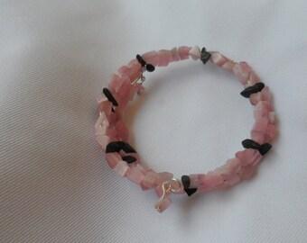 Pink Catseye Bracelet