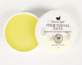 Four Thieves Salve - Thieves Oil - Thieves Salve - Self Care - Self-care gifts - Immunity Boost - College Care Package - Cheer Up Gifts