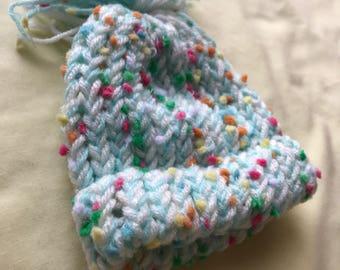 SALE** Baby Blue newborn hat