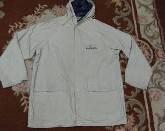 vintage LIEBEN raincoat jacket outdoor explorer fits to size L-xl