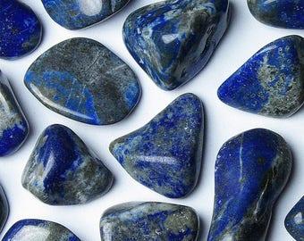 Lapis Lazuli - stone rolled away
