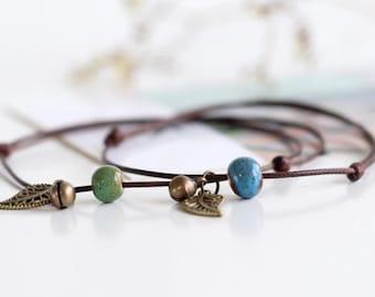 ceramic cord bracelets