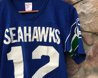 Rawlings Seattle Seahawks 80s 12th Man Large L