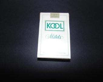 Vintage Kool Milds Cigarettes Playing Cards Complete Set