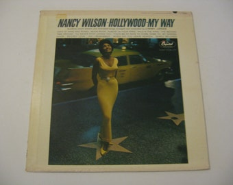 Nancy Wilson - Hollywood My Way - 1963  (Record)