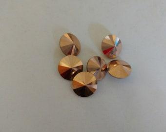 Rose Gold Swavorski Crystals