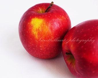 Wall Art, Photography Print, Apples, Food Photography