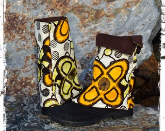 "gaiters adult wax ""butterfly"""