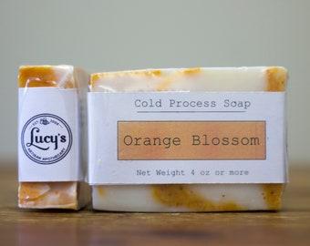 Orange Blossom Cold Process Soap