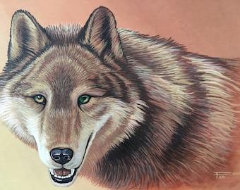 Wildlife, Majestic Wolf - Free shipping!