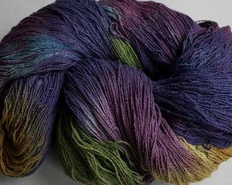 Stella, silk noil yarn, 1350 yds - Vineyard.