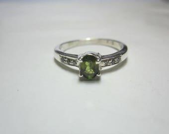 natural tourmaline and natural diamond ring ,diamond ring,tourmaline ring,WOOW