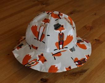 Children's Sun Hat, Fox- Full Purchase Price DONATED TO CHARITY!