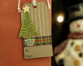 Christmas Tree Gift Tag 5-Pack (similar)