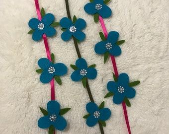 Poppy Flower Headband Trolls