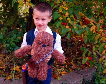 What a Wookie Chewbacca PDF crochet Star Wars toy pattern INSTANT DOWNLOAD