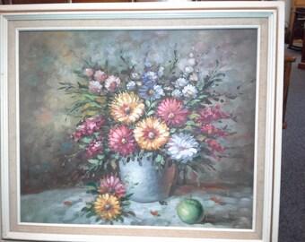W. Adams Original Oil Painting