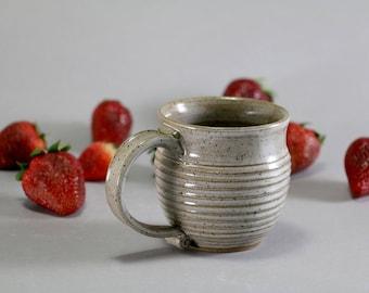 Ceramic Mug - 10oz - Carved Texture