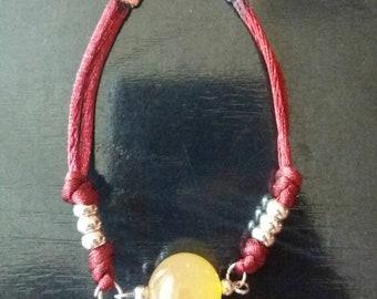 Turmalita bracelet semiprecious stone. Bracelet Turmalita.