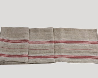 Linen table runner - linen runner - french style runner - rustic linen runner - dinner table runner - linen centerpiece - rustic centerpiece
