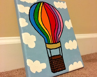 Handpainted canvas