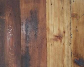 120 yr. old Authentic Barn Wood Flooring