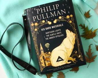 His Dark Materials Book Purse Philip Pullman Book Bag