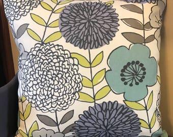 Decorative Flower Pillowcase 18x18