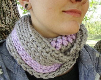Purple Clouds Infinity Scarf/Cowl