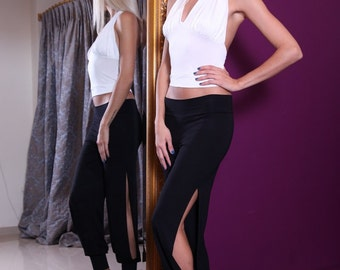 Babucha Pants | Women's Jersey Tango Pants | Ideal for tango and everyday wear |     Dance pants | Tango Clothing