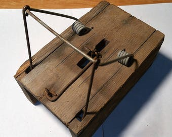 Early Primitive Gopher Trap