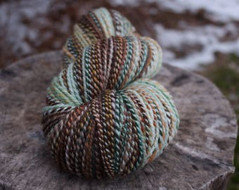 Winter Warmer - Handspun Organic Polwarth