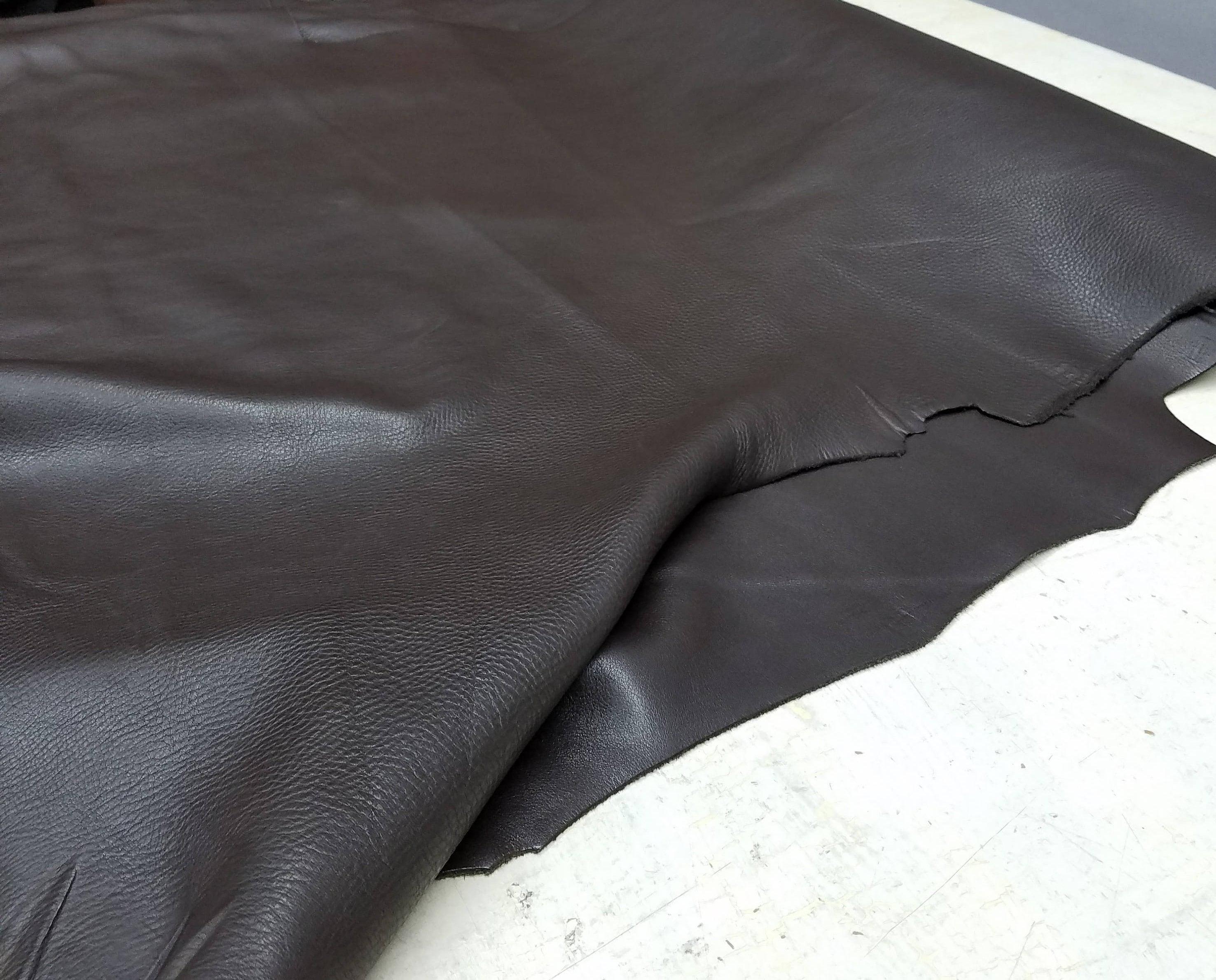 23-28 carrés carrés carrés Dark Brown Ultima tumblegrain aniline 3,5 à 4,0 oz tumblegrain vache peau cuir de vache sac à main sellerie cuir NAT cuirs 7f7df0