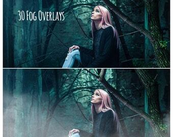 30 Fog Overlays, Fog Overlay, Photoshop Overlay, Mist Overlay, Smoke Overlay, Fog Clip Art, Fog Clipart, Fog Photos, Smoke