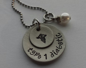 JBK Personalized medical alert necklace
