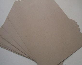 Light Kraft Cardstock - 10 sheets