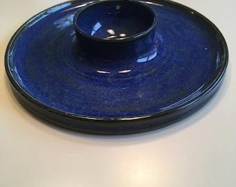 Ceramic bread and oil dipper