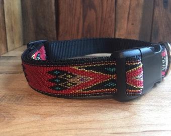 RED DIAMOND DOG Collar